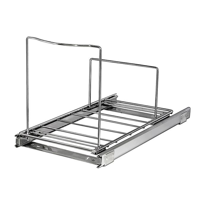 Alternate image 1 for Lynk Professional® Roll-Out Bin Holder in Chrome