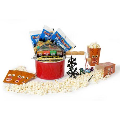 Wabash Valley Farms Holiday Popcorn Gift Set Bed Bath