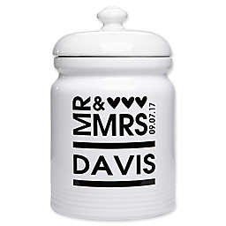 Mr. and Mrs. Cookie Jar