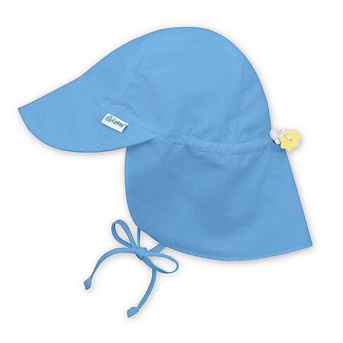 i play.® Toddler Sun Flap Hat in Light Blue  b5b6cdff7c37