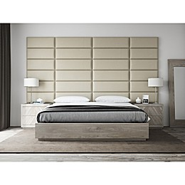 Vant® 4-Piece Upholstered Headboard Panel Set in Dusty Taupe