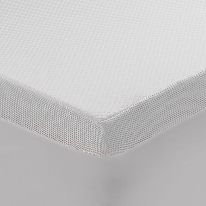 Alternate image 1 for FLoT Foam Soft Mattress Topper in White