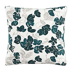 Skyline Furniture Bloom Throw Pillow in Turquoise