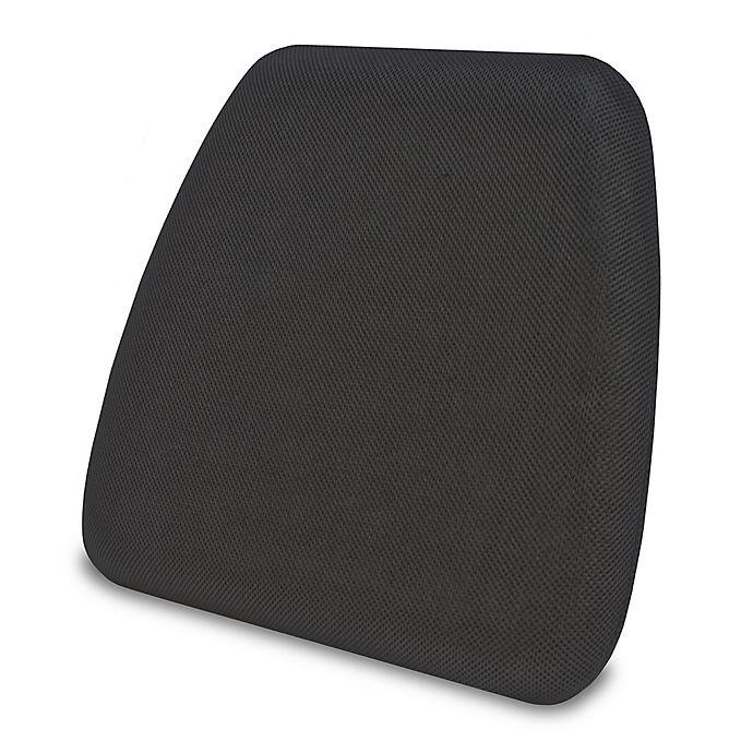 Alternate image 1 for Therapedic® Gel-Infused Memory Foam Chair Pad in Black