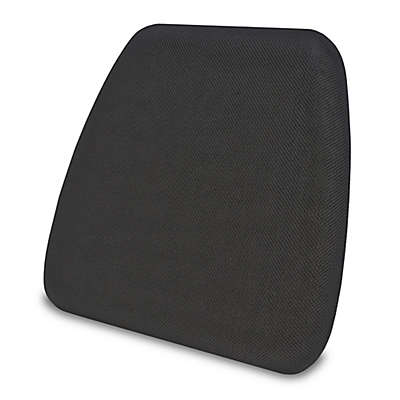 Therapedic® Gel-Infused Memory Foam Chair Pad in Black