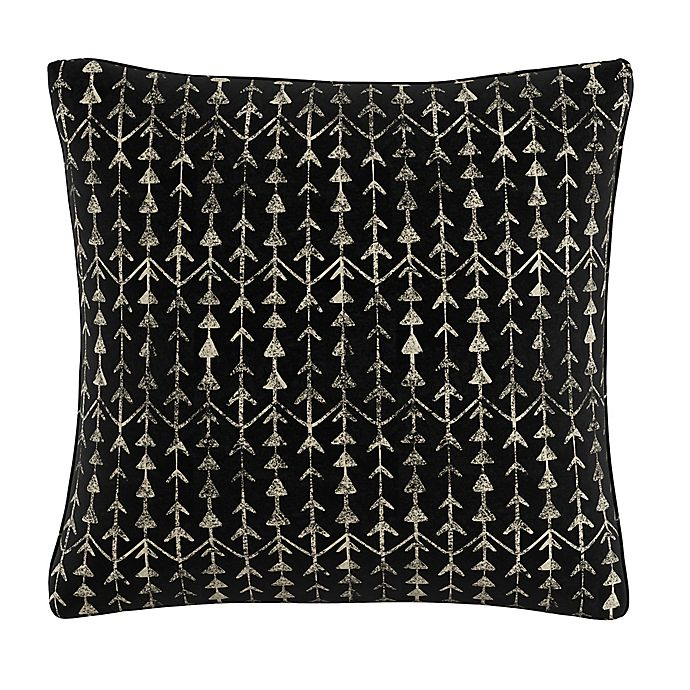 Alternate image 1 for Skyline Furniture Arrow Stripe Throw Pillow in Ink