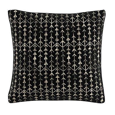 Skyline Furniture Arrow Stripe Throw Pillow in Ink