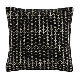 Skyline Furniture Arrow Stripe Throw Pillow in Ink