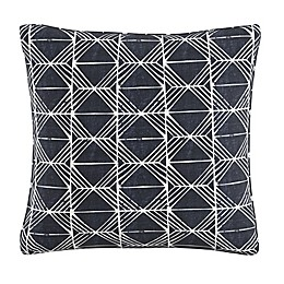 Skyline Furniture Block Print Throw Pillow in Indigo