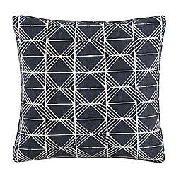 Skyline Furniture Block Print Throw Pillow in Indigo