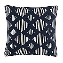 Skyline Furniture Line Lattice Throw Pillow in Indigo