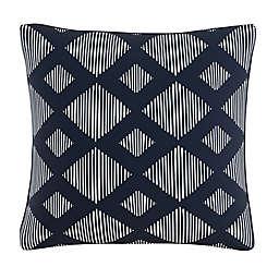 Skyline Furniture Line Lattice Throw Pillow in Indigo
