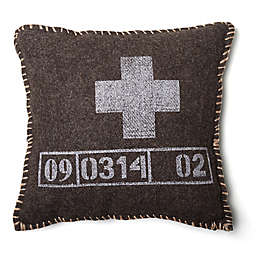 Amity Home Hunter Square Throw Pillow in Black