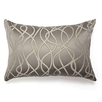 Amity Home Balesbeige Oblong Throw Pillow in Pearl