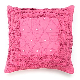 Amity Home Rosette Throw Pillow in Multi