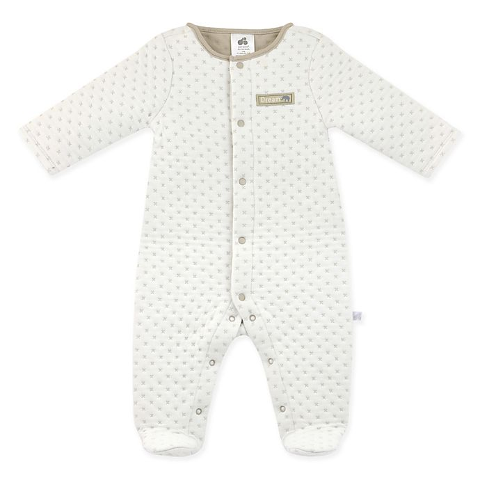 Alternate image 1 for Just Born® Keepsake Collection Double Quilted Sleep n' Play in Ivory