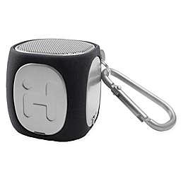 iHome® Bluetooth Rechargeable Mini MicroGo Speaker in Black/Grey
