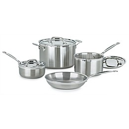 Cuisinart® 7-Piece Multi-Clad Pro Stainless Steel Cookware Set