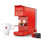 illy® Y3.2 Espresso/Coffee Machine in Red