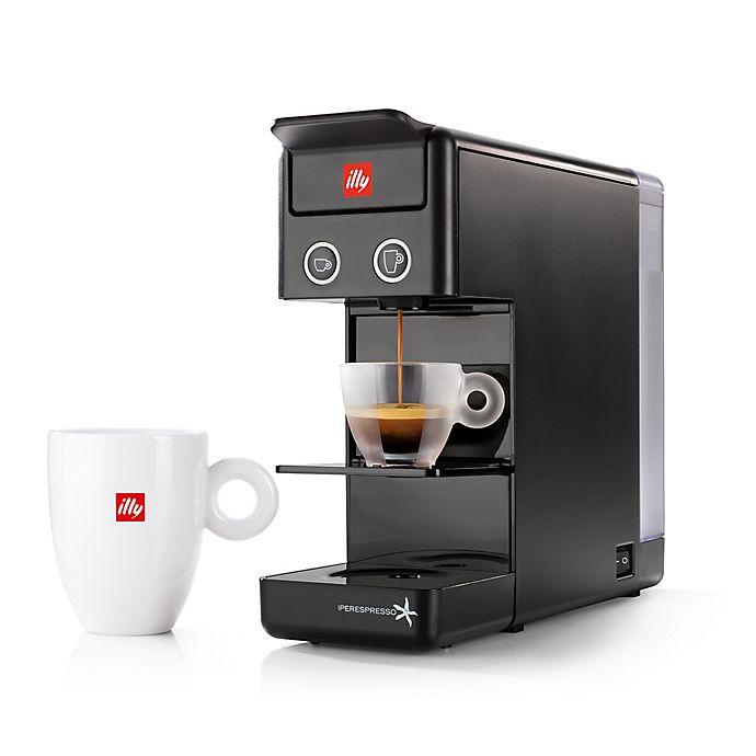 Alternate image 1 for illy® Y3.2 Espresso/Coffee Machine in Black