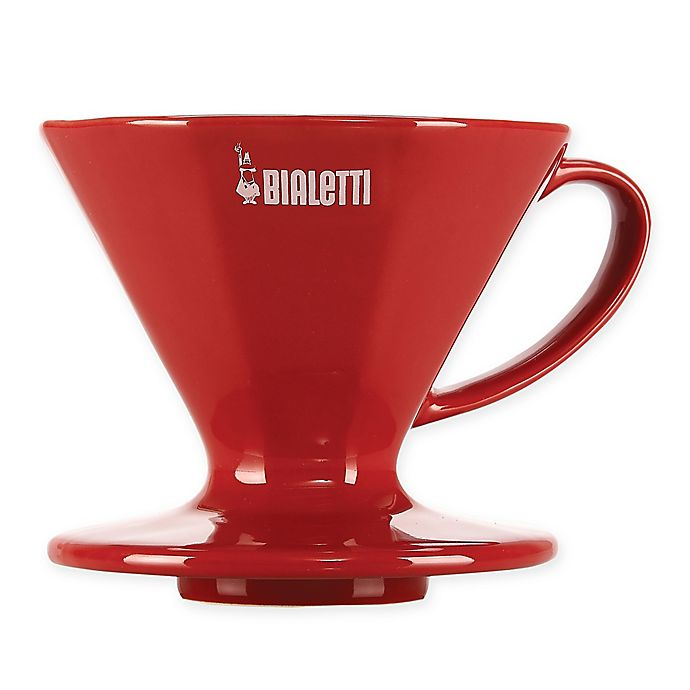 Alternate image 1 for Bialetti® 2-Cup Coffee Dripper in Red