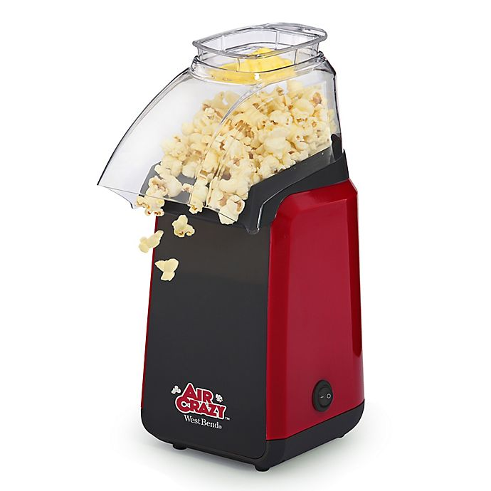Alternate image 1 for West Bend® Air Crazy Hot Air Popcorn Maker in Red