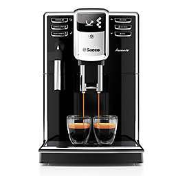 Saeco™ Super-Auto Incanto Espresso Machine in Black