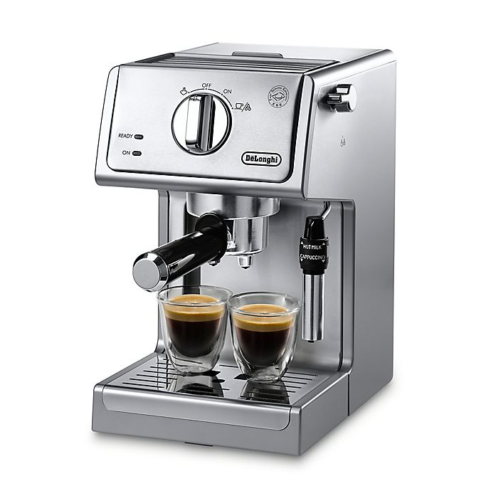 Alternate image 1 for De'Longhi ECP3630 Pump Espresso Machine in Stainless Steel