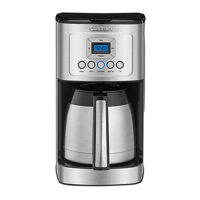 Cuisinart 12 Cup Programmable Thermal Coffee Maker Bed Bath Beyond