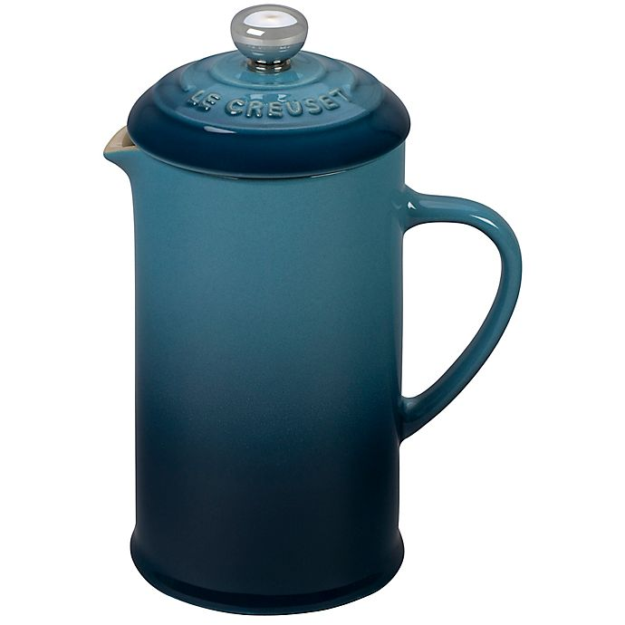 Alternate image 1 for Le Creuset® 12 oz. French Press in Marine