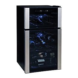 Koolatron™ 29-Bottle Dual Zone Wine Cellar