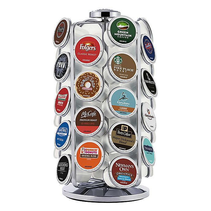 Alternate image 1 for Keurig® 36 K-Cup® Pod Carousel in Silver