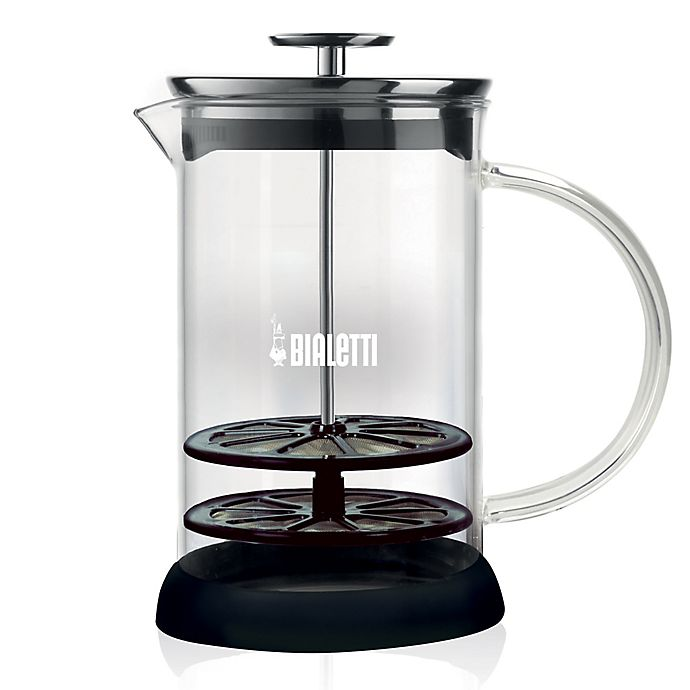 Alternate image 1 for Bialetti® 16 oz. Manual Milk Frother