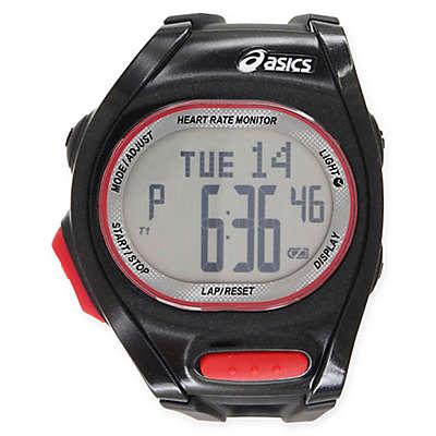 Asics® AH01 Heart Rate Monitor Running Watch