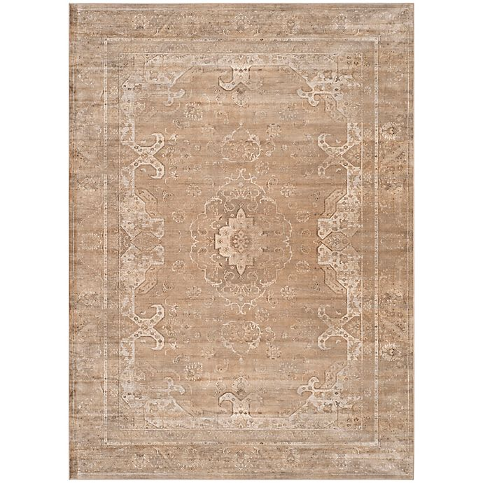 Alternate image 1 for Safavieh Vintage Cassandra 8-Foot 10-Inch x 12-Foot 2-Inch Area Rug in Mouse