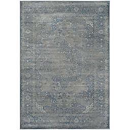 Safavieh Vintage Eloquence 4-Foot x 5-Foot 7-Inch Area Rug in Blue/Grey