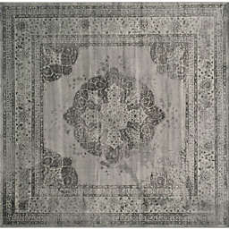 Safavieh Vintage Eloquence 8-Foot Square Area Rug in Grey