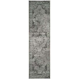 "Safavieh Vintage Eloquence 2' 2"" x 14"" Runner Rug in Grey"