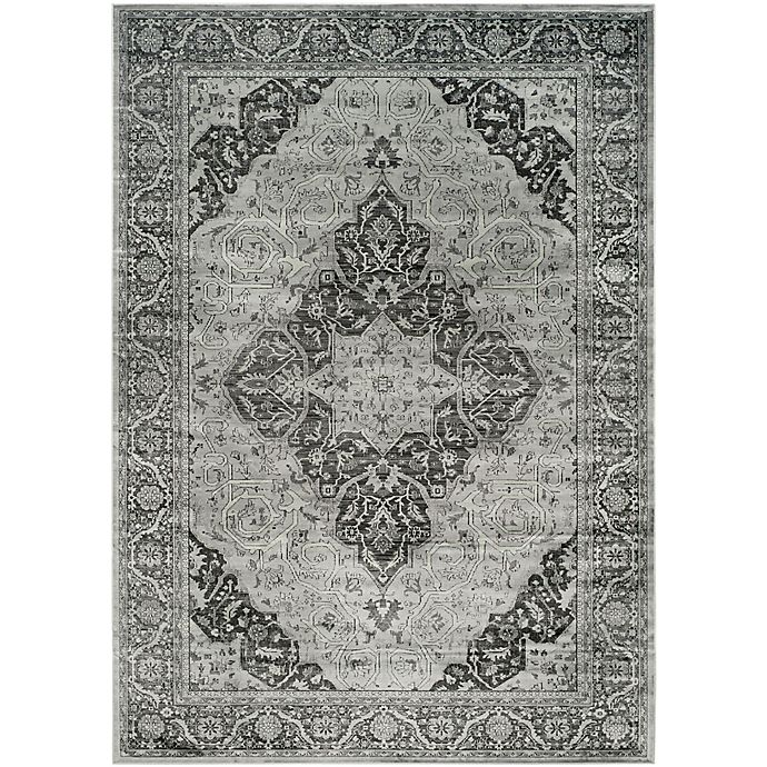 Alternate image 1 for Safavieh Vintage Kiana 7-Foot 6-Inch x 10-Foot 6-Inch Area Rug in Light Blue
