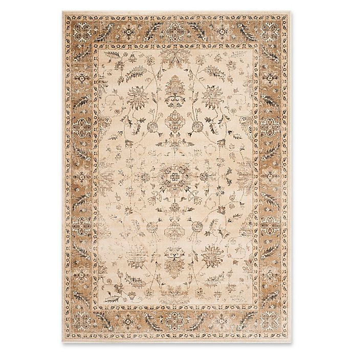 Alternate image 1 for Safavieh Vintage Charlotte 5-Foot 3-Inch x 7-Foot 6-Inch Area Rug in Stone/Caramel