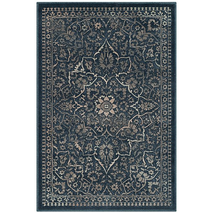 Alternate image 1 for Safavieh Vintage Rebecca 2-Foot x 3-Foot Accent Rug in Blue/Light Grey