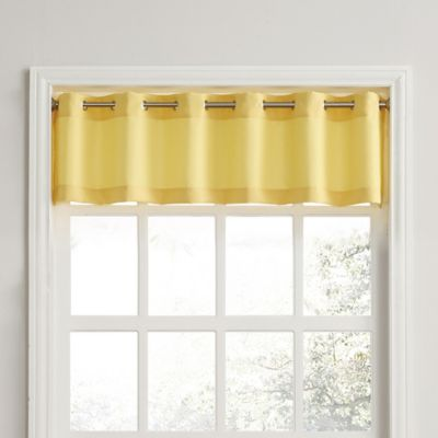 Yellow Kitchen Curtains Bed Bath Beyond
