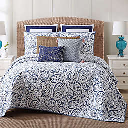 Indienne Paisley Twin XL Cotton Quilt Set