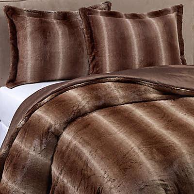 Mali Faux Fur Comforter Set