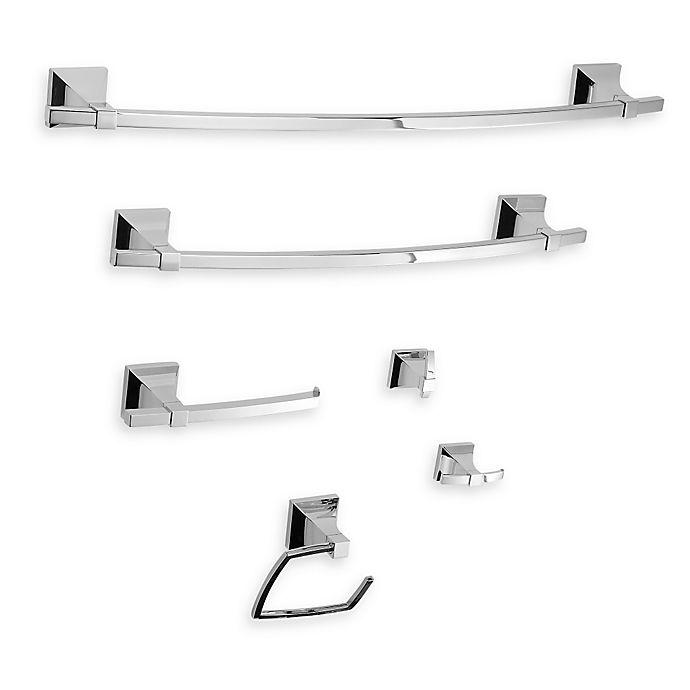 Alternate image 1 for Umbra® Zen Bath Hardware in Nickel