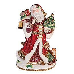 Fitz and Floyd® Renaissance Holiday Santa Figurine