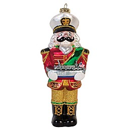 Fitz and Floyd® Kennedy White House Nutcracker PT-Boat Christmas Ornament