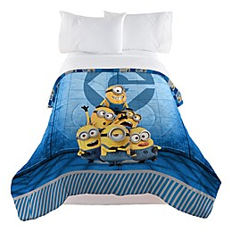 Minions Despicable Me Follow Mel Reversible Twin/Full Comforter