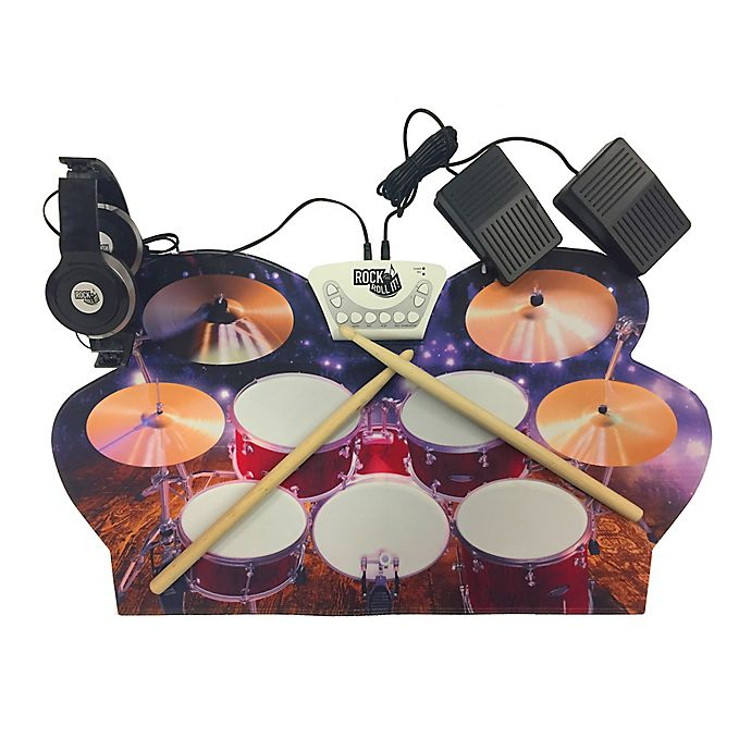 mukikim roll up drum kit bed bath beyond. Black Bedroom Furniture Sets. Home Design Ideas
