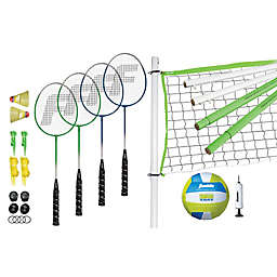 Franklin® Sports Intermediate Badminton and Volleyball Set